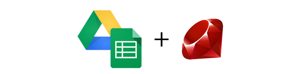 Lecture d'un un fichier Google Sheet en Ruby - Google Spreadsheet + Ruby
