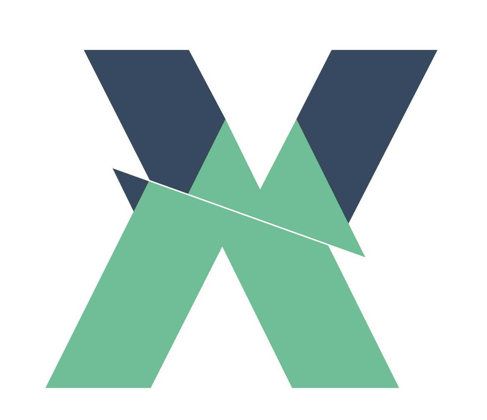 Vuex article illustration with a big X capital letter